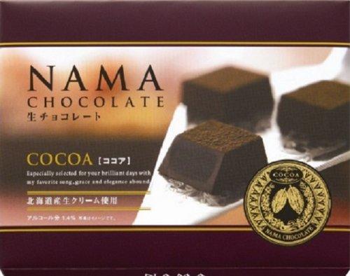 ハマダ 生チョコレート ココア 24個