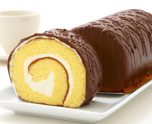 たまごチョコロール 懐かしの味わいチョコ ロールケーキ