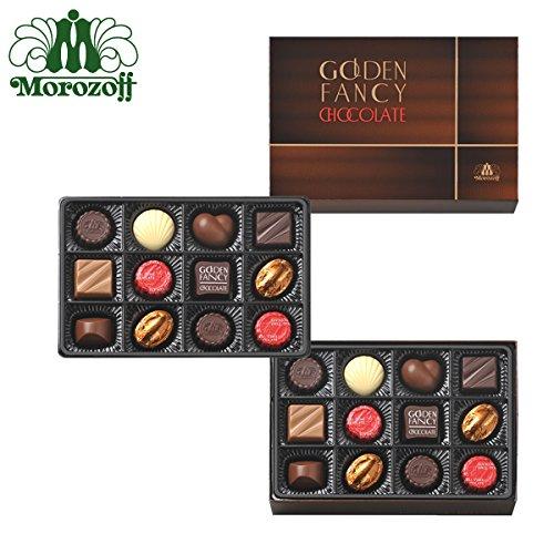 モロゾフ ゴールデンファンシーチョコレート 24個入