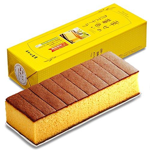 長崎心泉堂 長崎カステラ 幸せの黄色いカステラ 10切カットタイプ 560g
