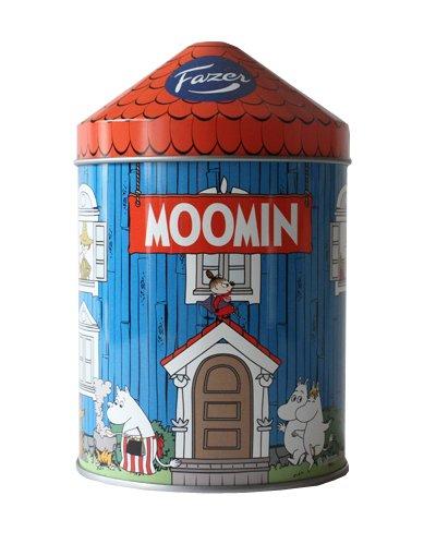 FAZER ムーミンハウス缶 チョコレートセット