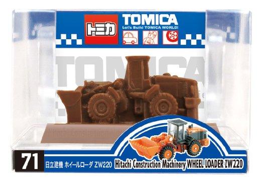 トミカ働く車チョコ 1個