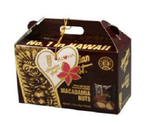 ハワイアンホースト マカデミアナッツチョコ TIKI BOX 4粒入