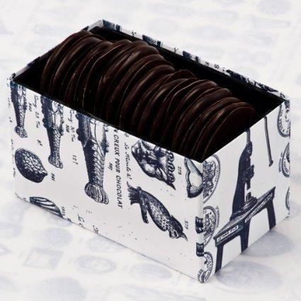 日本未販売!イギリス発ロココ・チョコレート ダークチョコレートコーヒー&カルダモンウエハース