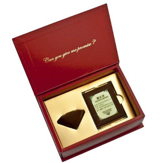 100ct ダイヤモンド チョコレート