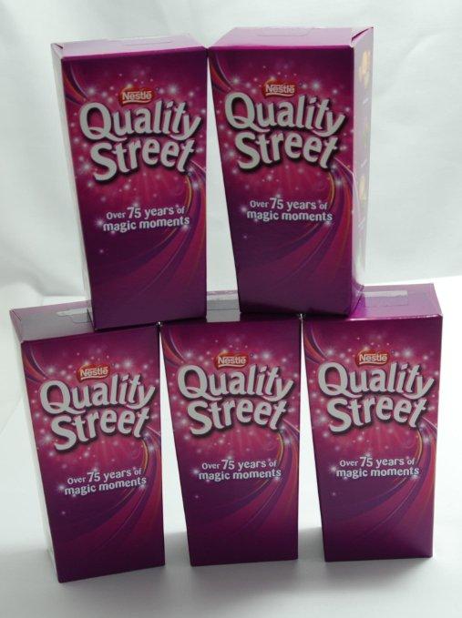 英国 ネスレ クオリティストリート チョコレート 5箱セット