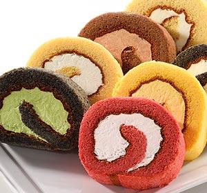 最高賞特Aの米粉を使用したスポンジ生地にこだわりの生クリームを使った究極のアイスロールケーキ