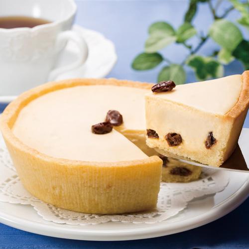 ベイクドレアチーズケーキ ラムレーズン