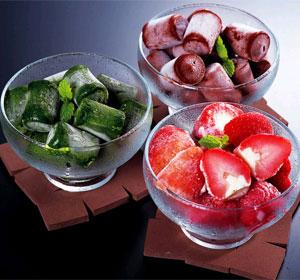 生チョコアイス&苺アイスセット