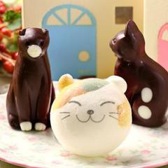 お絵かきマカロン動物っこ & ねこチョコレート 合計3個セット お家のギフト箱入
