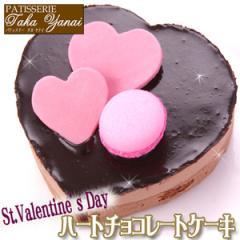 ハートチョコレートケーキ パティスリー TakaYanai