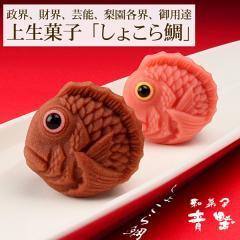 上生菓子しょこら鯛